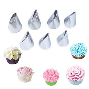7 Pcs / set 장미 노즐 크림 컵케잌은 디저트 장식 장미 케이크 빵 케이크 도구 장식 Bakeware 베이킹 용품