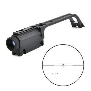 Nuevo 3.5x20 G36 Cross High Quality Rifle Scope para MP5 Metal Sight Weaver Rail Mount