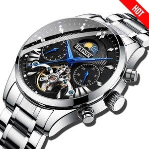 dos homens / mens relógios top marca de luxo mecânico automático / luxo homens relógio do esporte / relógio de pulso mens reloj hombre turbilhão