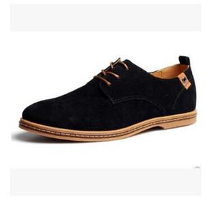 Herenschoenen Elegantes Zapatos Hombres Oxfords Zapatos de vestir Cuero genuino Vaca gamuza Tallas grandes Derby Prom Zapatos de boda formales Hombre mocasín homme