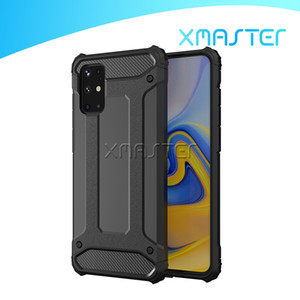 For Samsung Galaxy Note 20 Ultra S20 Plus A71 A01 Core Phone Case Hybrid Rugged Slim Armor Protector Cover with OPP Bag xmaster