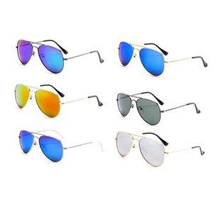 2020 bambini riflettente colorato yurta bambini occhiali da sole Occhiali sol ninos occhiali bambina izipizi bebe bambini colorato