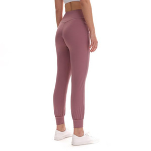 yoga pants leggings women joggers high waist yoga leggings light weight non see through 32 Solid Color Naked Sensation