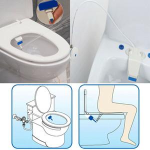 변기 비데 세트 욕실 비데 화장실 신선한 물 청소 좌석 비 전기 키트 첨부 욕실 비데 스프레이 무료 배송 스프레이