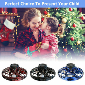 FlyNova UFO Drone Helicopter Anti-collision Flying Globe Mini Drone LED Mini USB Infraed Drone Aircraft 3 Colors CCA11927 1pcs