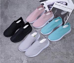 chaussures de marque nouvelle vitesse Sock Chaussures de sport stretch Mesh haut bas pour femmes Bottes paillettes rouge blanc noir Runner Formateurs plat size35-43