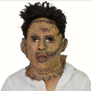 Cosplay Movie Stars Party fase lattice maschera spaventosa maschera di cinema e televisione puntelli Latex dance bar