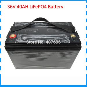 1500W 36V 40AH batterie 12S 36V batterie LiFePO4 Ebike droits de douane libre avec 43.8V 5A Chargeur