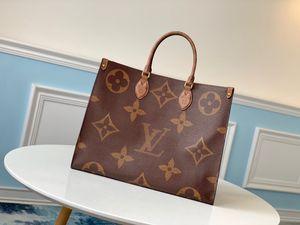 caldi di modo di OnTheGo M44912 torsione borsa di acquisto del messaggero Sacchetto di spalla del sacchetto di tasche Cosmetic Bag Totes Vera pelle