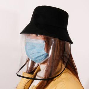chapéu da forma Fisherman Protective Cap Anti-bacteriana Isolamento Aeolian Areia Poeira T2C5188 protecção Hat Eye prevenção de epidemias