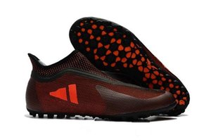 2019 Nuevos zapatos de fútbol para hombre Turf X Tango 17 Purespeed TF IC Botines de fútbol para interiores Botas de fútbol Nuevas botas de fútbol Predator Futsal