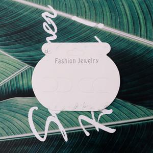 Good Quality 500pcs 9.5*7.5cm Handmade White Girls Women Headwear Hairgrips Handmade Hair Barrettes Hairpins Card