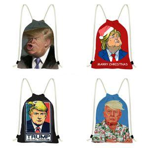Trump Siyah Kabartma Trump Sırt Çantası Tote Pu Deri Moda Trump Çanta Ünlü Marka Omuz Çantası Yüksek Kalite # 767