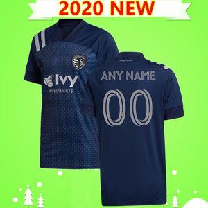 2020 Sporting Kansas City Fútbol MLS 2021 PULIDO Busio RUSSELL Gerso poco Gutiérrez 20 21 camisetas de hogar lejos Uniforme