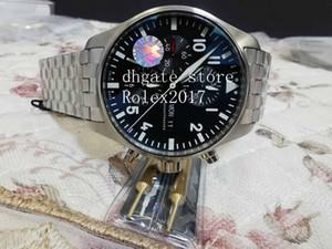 Top Uomo Top Mens Luxury Top ZF Quality Chronograph Swiss ETA 7750 Movimento Automatico Uomo Automatico 316L Bracciale in acciaio inox Sport Dive Orologi