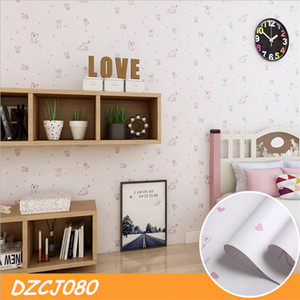 Modern Minimalist Plain Self-Adhesive Wallpaper Living Room Bedroom Background Home Wall Sticker 0.6*1M