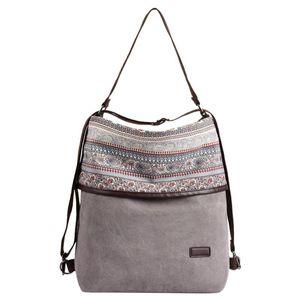 Moda Multipurpose Mulheres lona Bolsa Escola único deve Bags Bolsa de primavera e verão Popular Saco selvagem 1227