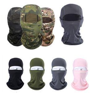 13 stili bicicletta maschere multi colore Outdoor Sport Sci Maschera CS antivento polvere Copricapo Camouflage Tactical Mask T9I00160