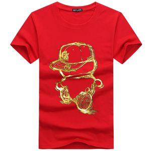 2019 Fashion Designer Marque P-P chaud forage Skulls T-shirt Vêtements pour hommes T-shirts pour hommes Hauts manches courtes T-shirt-16