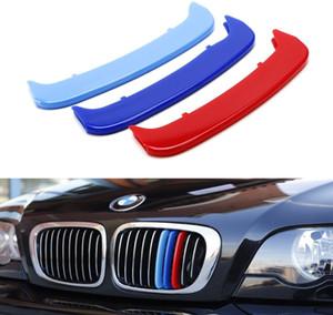 M Color Kidney Grille Insert Trims Cover for E46 Grill Accessories 3 Series 02-05 E46 3 Series Sedan 00-03 E46 Coupe 02-06 M3