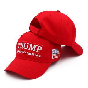 Donal Trump Baseball Cap Hat keep Make America Great Hats Donald Trump Election Cap Embroidered Cotton Casquette Customizabl 300pcs T1I2002