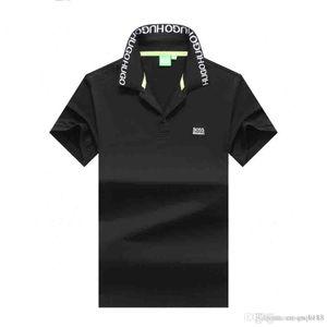 2020 Nuovo Uomo Primavera Estate autunno polo casuale ape magliette della camicia di polo degli uomini serpente ricamo mens alta moda Polo T-shirt