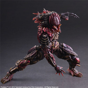 PA Kai Predator Actionfiguren Alien vs Predator Movable Abbildung Modell Toy Play Arts Kai GK
