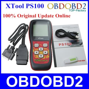 100% Original Xtool PS100 OBDII Can Scanner Update Online PS 100 OBD2 Erase Trouble Code Free Shipping