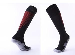 different Adult children's non slip over knee football socks thickened towel bottom long tube socks comfortable wear resistant sports socks
