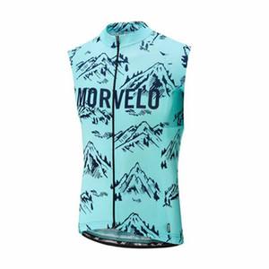 Jersey de ciclismo Hombres 2019 equipo profesional MORVELO verano Respirable jerseys de bicicleta Carretera sin mangas Tops / Camisa Ropa ciclismo hombre Y052007