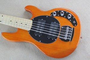 Orange Music Man Ernie Ball Sting Ray 5 струнных бас-гитара 9В батареи активная Pickup электрическая гитара Клен Накладка