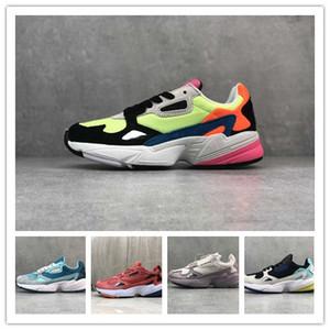 amantes de la moda de lujo Falcon zapatos ocasionales de las mujeres de diseño en las zapatillas de deporte para hombre de Entrenadores Dadday Aire libre nueva de los zapatos corrientes unisex Chaussure 36-45