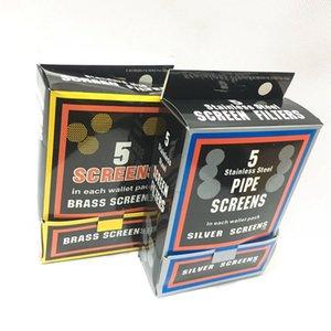 """Universal tabaco para cachimbo telas de prata Latão Cor 0,78"""" polegadas 20 fumando mm Acessórios para fumar cachimbo de água Cachimbo de vidro bong"""