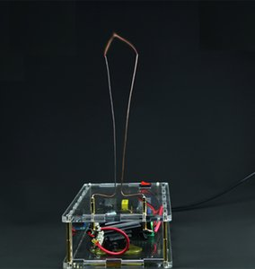 instrument electrical experiment High Voltage Arc Jacob Ladder Experiment DIY Experiment Kit Tesla coil physical geek