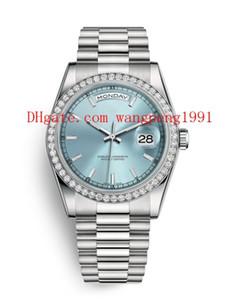 12 Estilo de alta calidad original de la caja de reloj de 36 mm m118348 118348 118399 118346 zafiro de cristal movimiento de reloj de pulsera automáticos