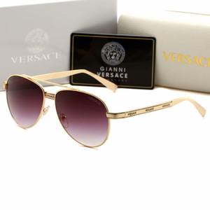 Новый бренд дизайнер 2209 солнцезащитные очки пилот женщины мужчины мода стиль очки вождения покупки очки очки очки