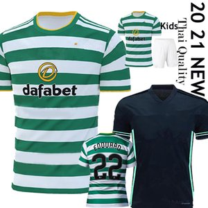 2020 2021 New Celtic Fußball-Trikots MCGREGOR GRIFFITHS BROWN FORREST Football-Shirts Celtic FC EDOUARD 20 21 Erwachsene Kinder Kits Uniform