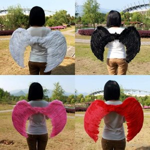 Angel Feather Wings For Kid Xmas Costume Party Cosplay Butterfly Style Prop Pure Manual Creative Fashion Children Plumage