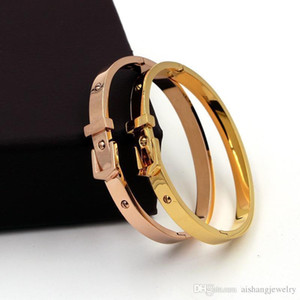 ztung PB19 fashion women jewelry 18K gold plated bangle adjustable size Watch strap style for women birthday gift