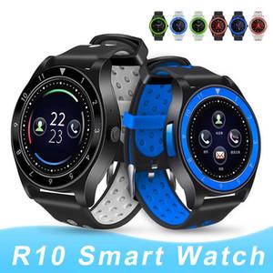 Новый смарт-часы R10 Bluetooth Смарт часы SIM-карты Камера Smartwatches шагомер Music Player для Android IOS с коробкой