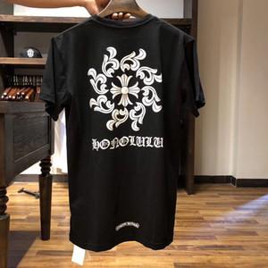 2020 летняя тенденция совершенно новая футболка с коротким рукавом санскритский принт унисекс повседневная на всем протяжении хлопчатобумажная футболка