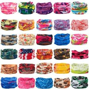 2020 Bandana for Men Women Printed Headband mens Seamless Scarf Multifunctional Face Mask Tube Ring scarves outdoor bike Bandanas hot