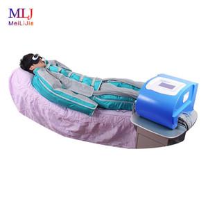 Le plus récent 24 sacs gonflables pressothérapie Massage Drainage lymphatique / Pression d'air Detox / Minceur Costume système de thérapie par l'air vague pour la maison et le salon