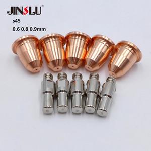 10pcs torche plasma Consommables S45 électrode et pointe