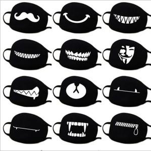 Máscara de algodão Dustproof Boca Rosto Anime Sorte dos desenhos animados Urso Mulheres Homens Muffle face Boca Máscaras GB887