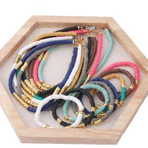 Pulseiras de cerâmica NeeFu Wofu Bracelet Set 35cmnecklace macias para aço inoxidável Mulheres Nacionalidade Pulseira Beach jóias