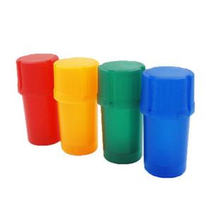 Acrílico amoladora de la hierba seca cubo de basura Modelado fumadores amoladoras llanos rojos botellas con formas de humo de almacenamiento caja de regalo de la promoción para 2yh E1
