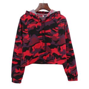 Fashion-2019 Hot Sale Camouflage women hoodies sweatershirt autumn spring women tops drop shipping