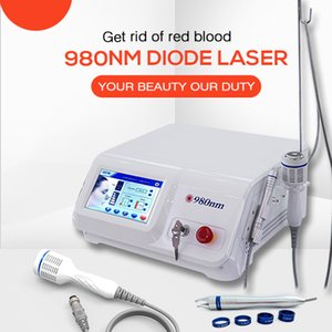 De alta potencia de láser de diodo 980nm 30w Vena Remoción De Broken Remoción Capilares En la Cara eficaz Spide vena y Red vascular láser de 980 nm
