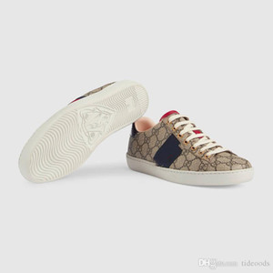 In 2019 authentic casual men's and women's shoes sneakers comfortable and breathable fashion brand design Ace bee stripes couple shoes lace